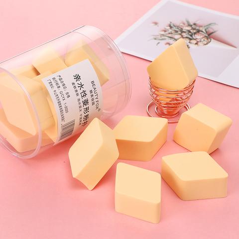 菱形化妆海绵超软美妆蛋不吃粉干湿两用气垫彩妆蛋粉饼粉扑粉底扑