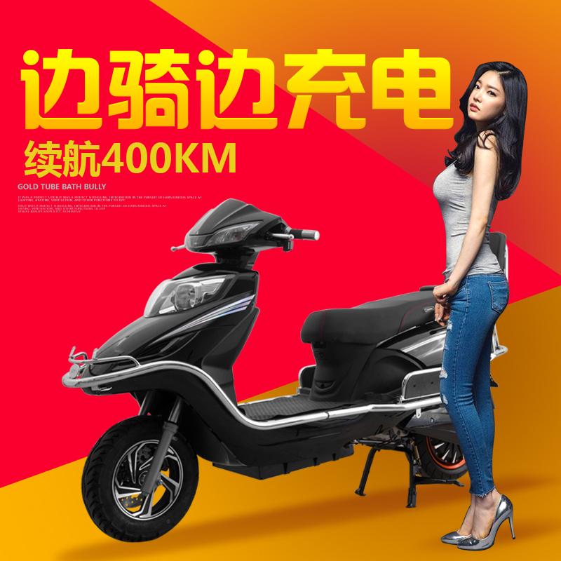 11-07新券铃本32A增程式油电混合电动车油电两用电瓶车油电混合摩托车外卖