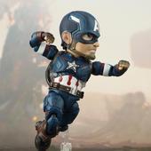 egg美国队长模型人偶国产复联4手办玩具超级英雄盾牌玩偶