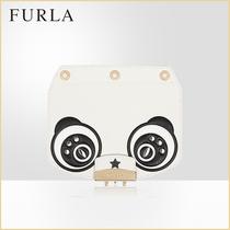 迷你可爱熊猫造型斜挎包包盖MYPLAYFURLA芙拉FURLA