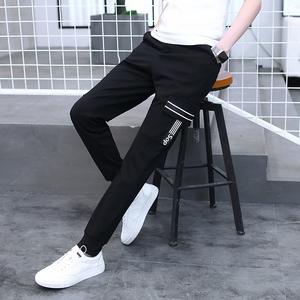 13夏季青少年长裤子男12-15岁男孩休闲工装裤14大童男装运动裤16