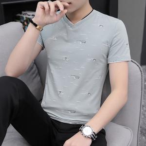 夏季短袖男士纯棉冰感体恤冰丝t恤