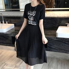 韓版修身時尚長裙