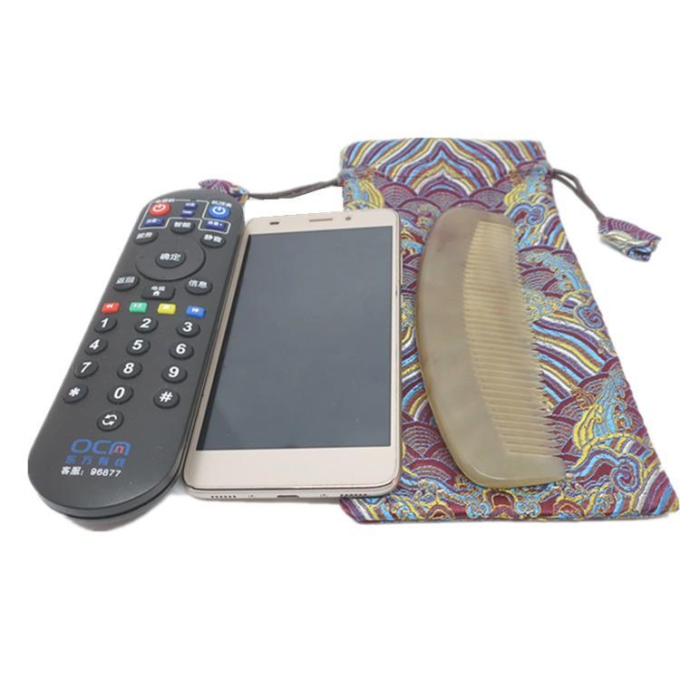 A 锦囊长型袋子梳子布袋收纳经书袋牛角手机丝绸袋包装袋文玩袋,可领取1元天猫优惠券
