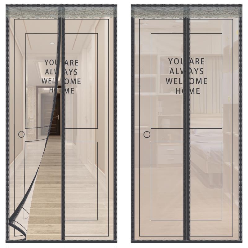 10月10日最新优惠高档门帘夏季家用防蝇纱窗网沙大门