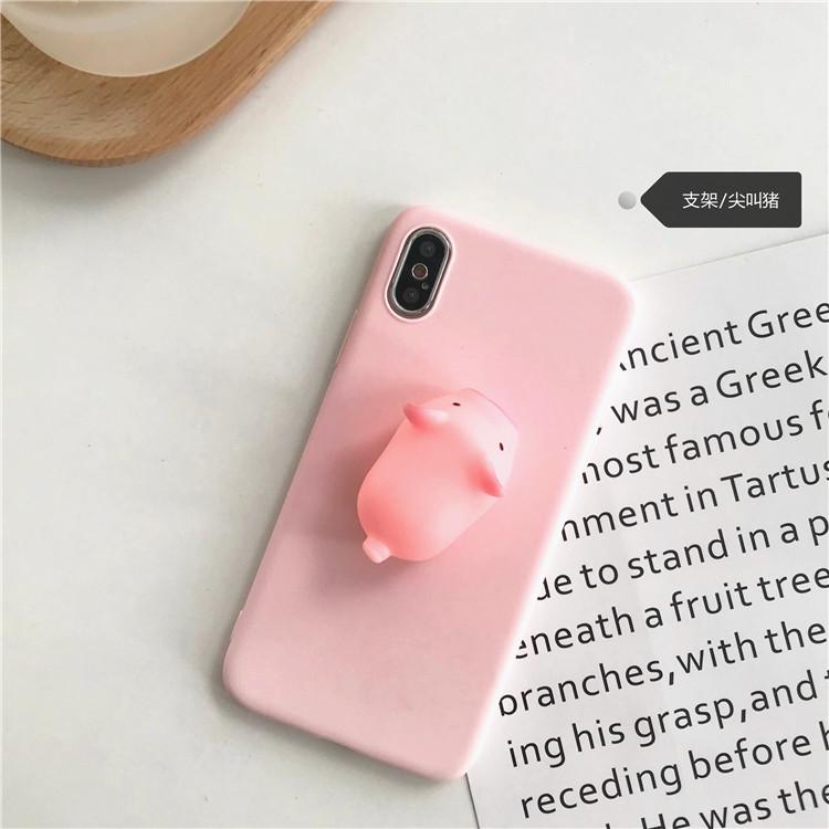 减压创意立体小猪oppo a9男手机壳正品保证
