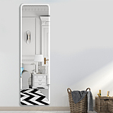 HD full-body mirror wall-mounted pasted frameless mirror simple fitting mirror dormitory bedroom floor mirror sticker wall