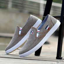 厂家春季男士帆布鞋三次硫化男鞋韩版小白鞋休闲学生板鞋轻便
