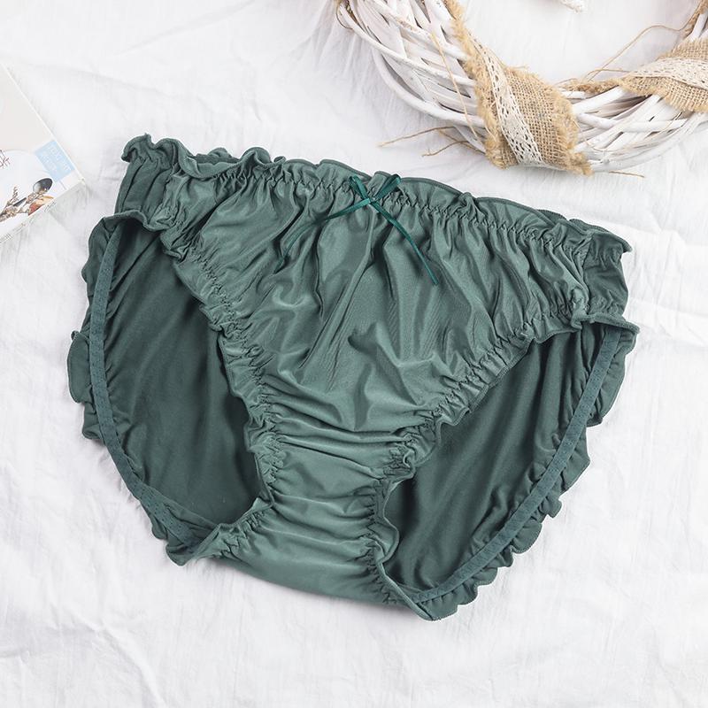 内裤女大码胖mm200斤中腰女士透气无痕无缝莫代尔舒适薄款三角裤