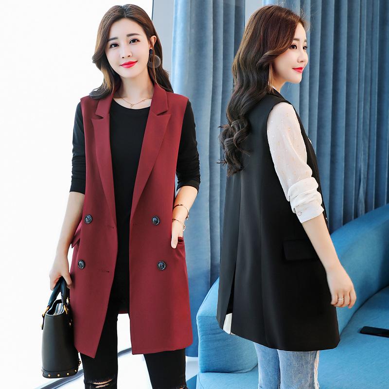 High end 2020 summer new Blazer waistcoat womens Harajuku versatile waistcoat cardigan with thin coat