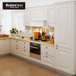 博洛尼整体橱柜欧式开放式厨房石英石台面厨柜定制赛博格苏格尔
