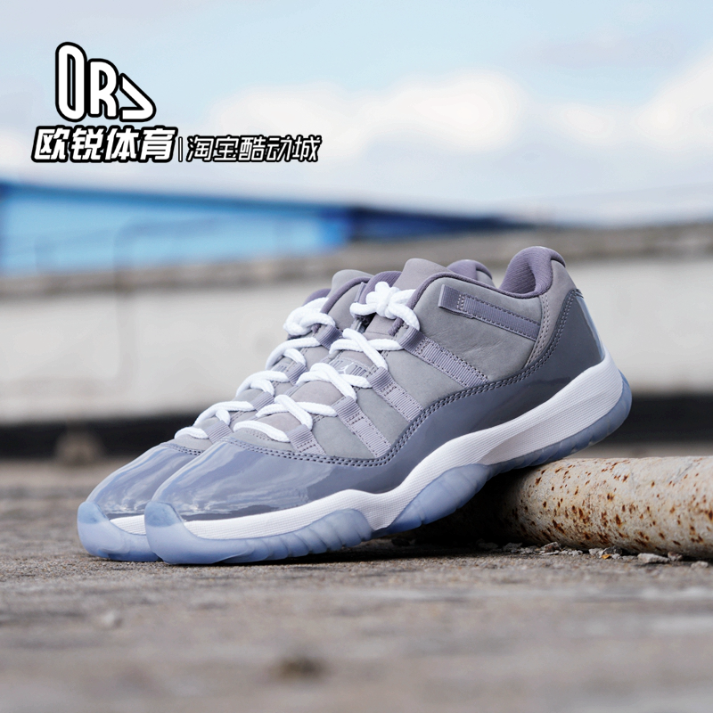 Air Jordan 11 Low Cool Grey AJ11酷灰低帮 528896 528895-003