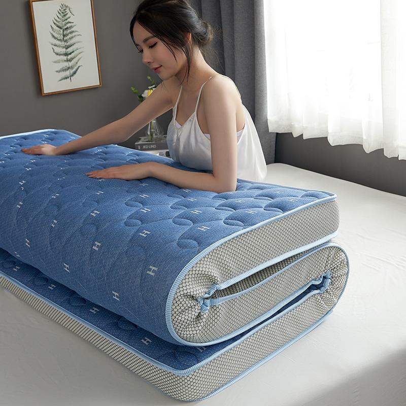 定做乳胶床垫软垫1.8米/1.5/1.35/1.2X1.9m2米海绵榻榻米定制尺寸