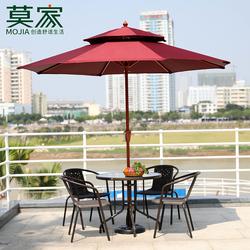 户外伞庭院伞室外大太阳伞广告折叠中柱伞阳台桌椅遮阳伞户外摆摊