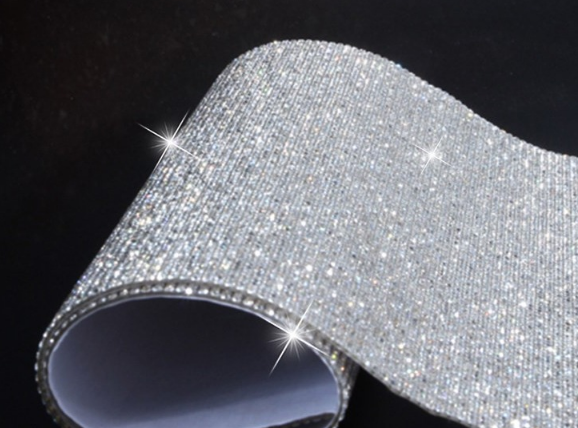 汽车钻贴女士DIY水钻贴钻内饰美容装饰钻石贴个性方向盘车标贴钻