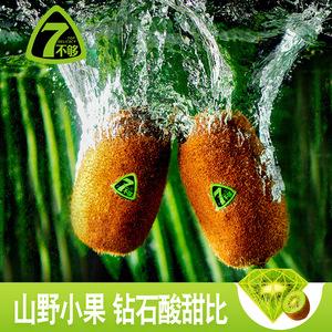 7不够贵州修文山野生猕猴桃绿心礼盒当季新鲜水果奇异果12粒包邮