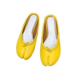 網紅ins超火夏半拖鞋女外穿懶人鞋包頭涼拖豬蹄鞋馬蹄鞋分趾拖鞋