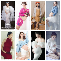 2018 new film studio pregnant women theme photo clothing personality aesthetic pregnant women photo Mommy photography Clothes Korean version