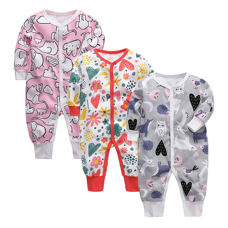 BABY BODYSUIT pure cotton creeping suit single layer ha clothes baby bag fart clothes bodysuit spring and summer pajamas newborn childrens clothes