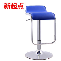 Simple bar Chair Bar Chair Cashier high stool European bar stool mobile phone store business Hall front bench stool lifting and rotating