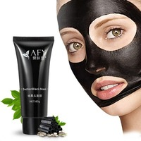 face mask afy suction black mask deep cleansing tearing blac