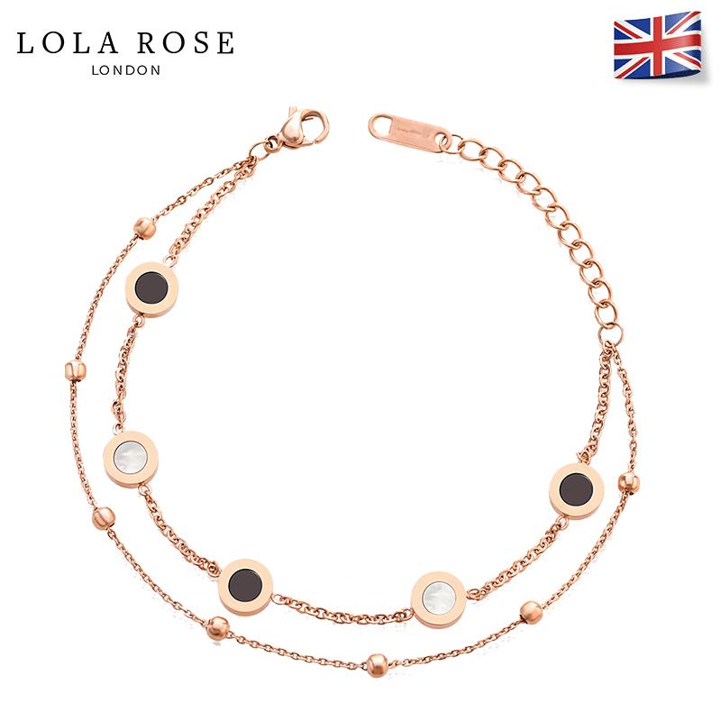Lola Rose手镯 百搭手链女小众设计七夕礼物送女友礼物学生个性
