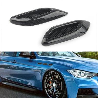 汽车叶子板侧标贴仿碳纤维车身装饰贴个性改装通用配件运动套件