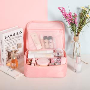 网红化妆包ins风超火小号便携大容量化妆袋少女心洗漱品收纳盒