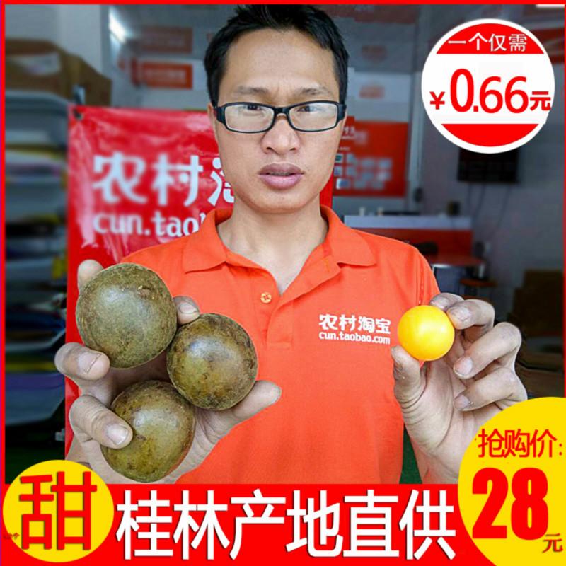 57-62mm散装罗汉果茶包邮广西桂林特产特级永福罗汉果干果1斤泡茶