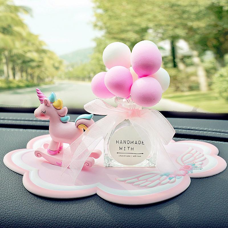 車內飾品擺件網紅個性創意汽車香氛擺件女車上裝飾品車載香水持久