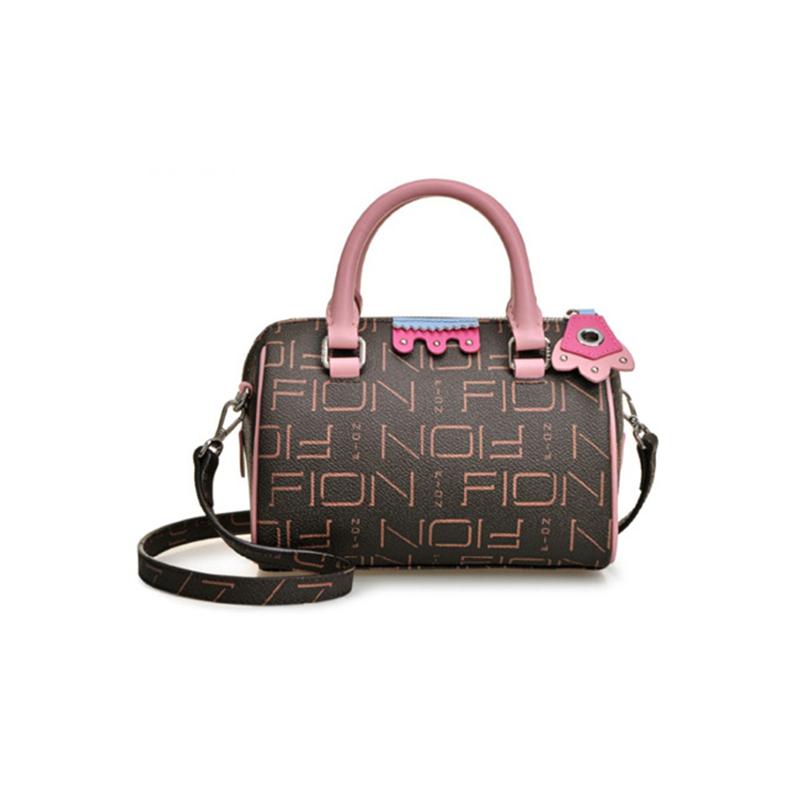 正品FION菲安妮女包   2019新款手提包单肩斜跨包 FAAFISQ018图片