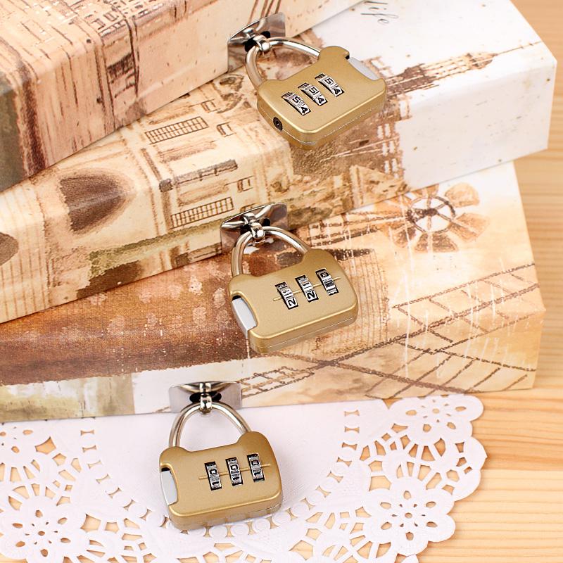 韩国创意文具名筑硬抄记事本 笔记本 精装密码本 带锁日记本包邮