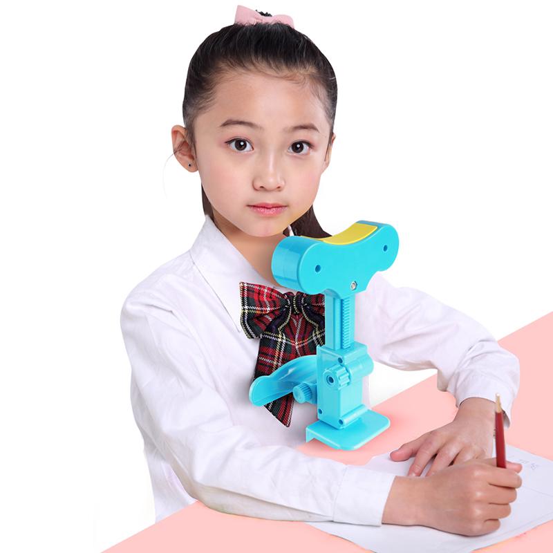 视力保护器坐姿矫正器儿童写字姿势纠正器小学生防近视驼背弯腰低头纠正器仪眼小孩用正姿提醒书写作业支架神
