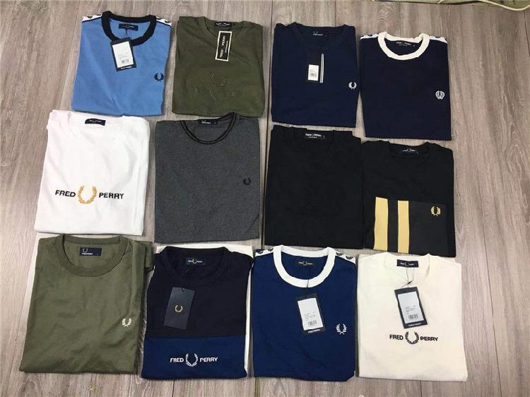 21款FP经典夏季 圆领 保真全棉男士t桖半短袖 麦穗 外贸英伦 衬衫