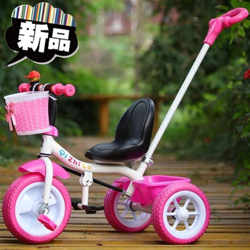 。小儿幼儿婴儿手推车b儿童折叠轻便三轮车童车学步车脚蹬搁脚板