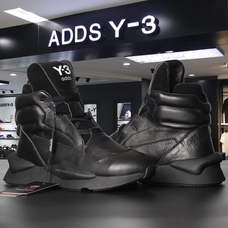 ADDS Y-3黑武士老爹鞋女adds y3男鞋秋冬季真皮休闲运动高帮靴潮