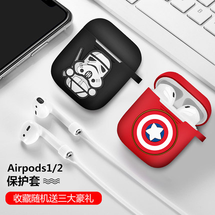 airpods airpods2潮苹果iphone贴纸