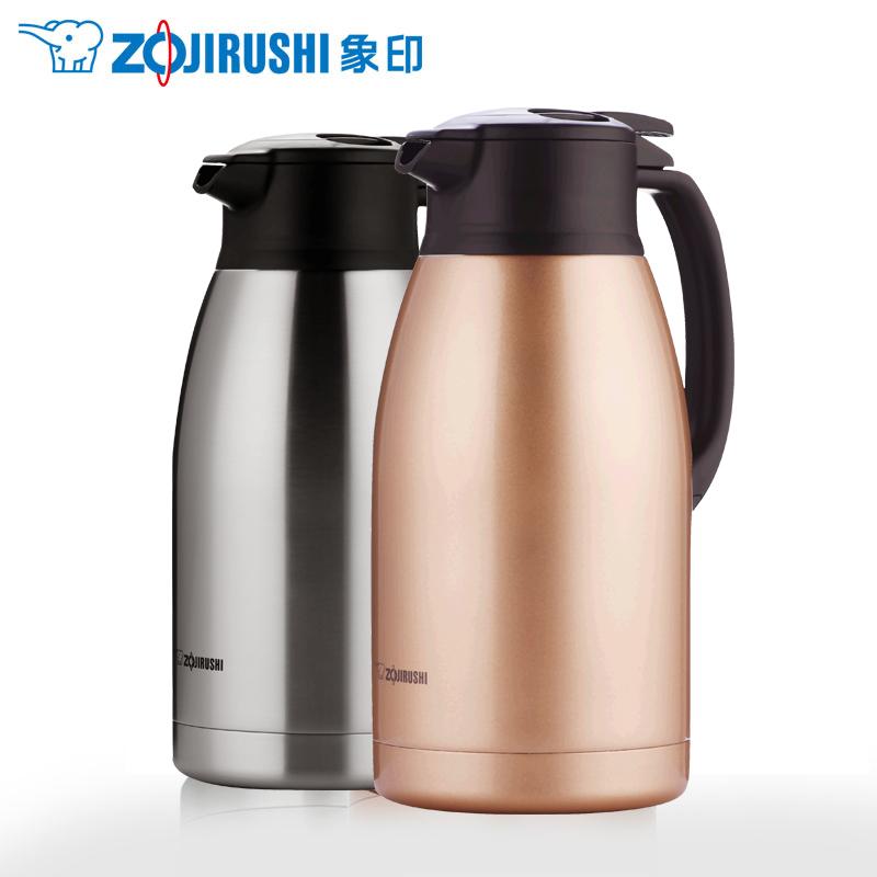 象印保温水壶HA19C真空不锈钢大容量家用热水瓶暖壶开水瓶保温瓶