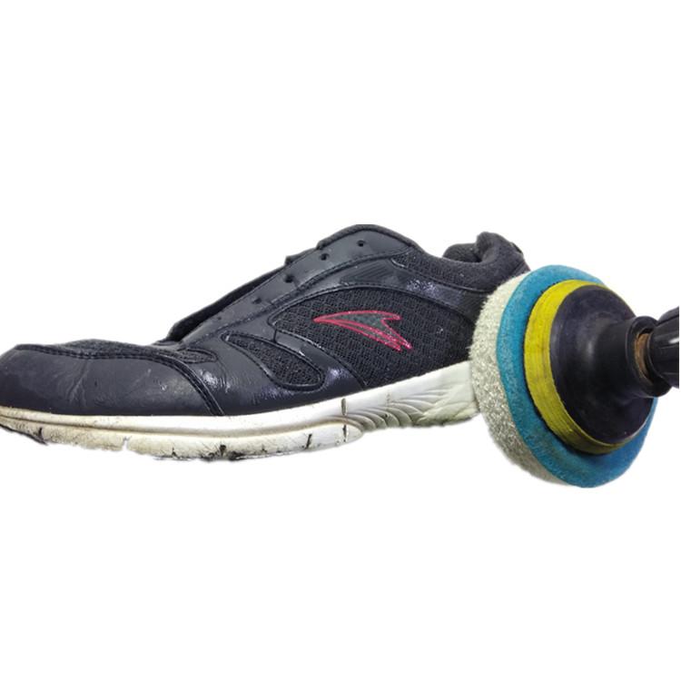 电动鞋刷擦鞋器电动刷鞋机百洁布鞋刷电钻带动皮鞋上油抛光