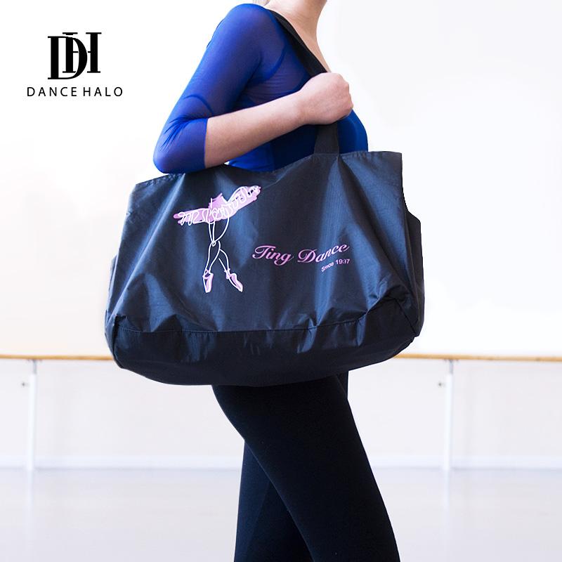 新款舞蹈服收纳袋跳舞芭蕾舞运动健身瑜伽包成人女时尚大容量包包