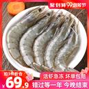 海虾鲜活冷冻海鲜水产速冻虾非青岛大虾超大基围活虾青虾特大白虾