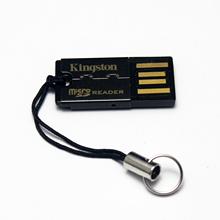 グラントキングストンミニTFカードリーダーマイクロSDメモリカードの高速USBの単純なパッケージから1