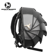 ROCK Biker Motorcycle Backpack Helmet bag mens shoulder riding Knight locomotive pangolin Tail bag waterproof bag
