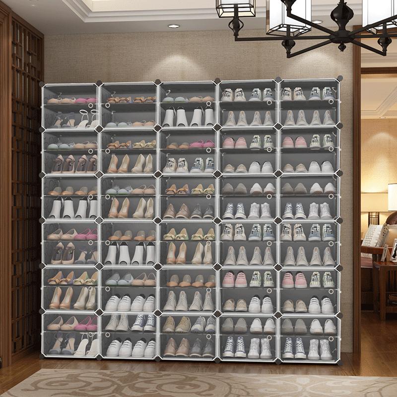 简易鞋柜家用防尘收纳神器多层室内好看经济型鞋架子放门口大容量
