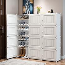 鞋架简易鞋柜多层家用组装经济型省空间简约现代宿舍防尘门厅柜