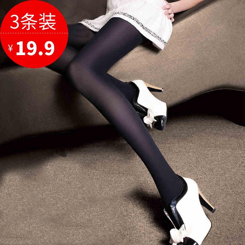 女士夏季春季连裤袜防勾丝黑肉色薄款打底裤袜女美腿丝袜