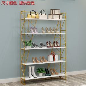 鞋店鞋架展示架店铺多层架子童鞋架商场鞋包组合陈列架鞋柜货架