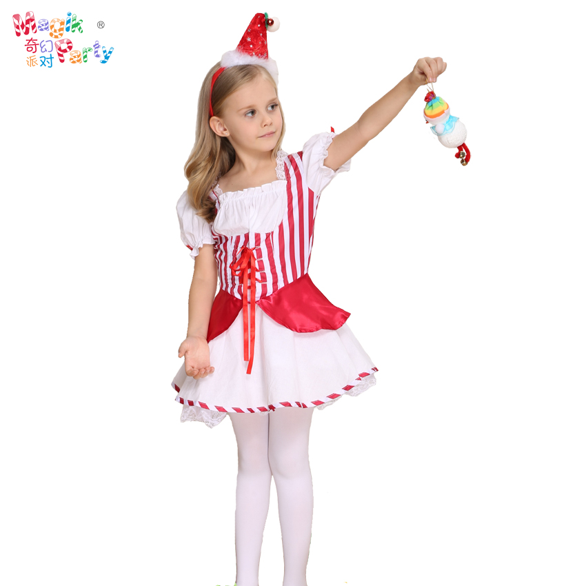 Fantasy party Cosplay childrens costume role play Little Red Riding Hood Fairy Dress