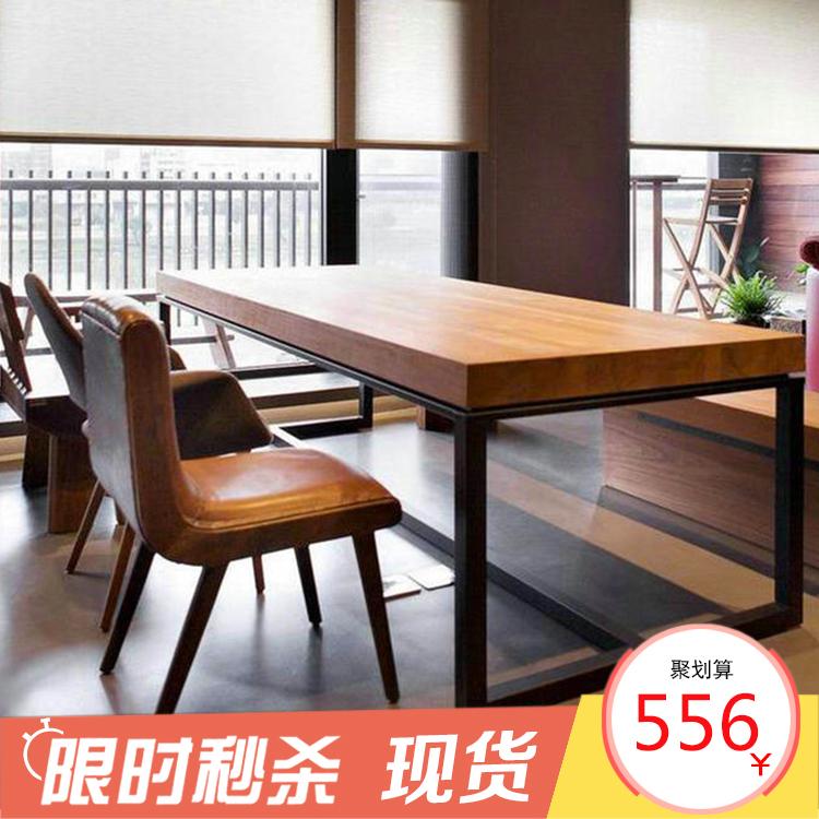 Стол для совещаний на дереве из нержавеющей стали полосатый Таблица представлена поколение Простой рабочий стол для учебного стола и комбинации стула