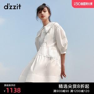 dzzit地素2020夏专柜新款女连衣裙
